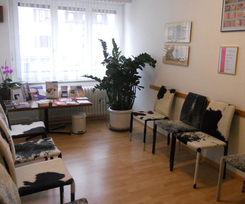Praxis Wartezimmer Dr. Andrej Drakul